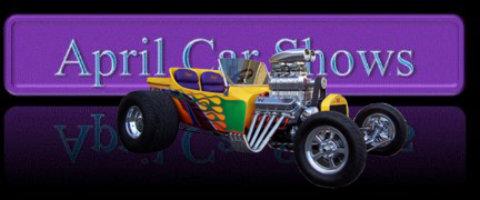 April Car Shows - Charleston car show calendar