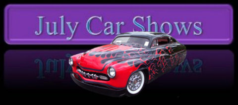 July Car Shows - Merit chevrolet car show
