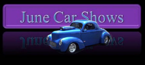 June Car Shows - Carmel indiana car show