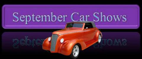 September Car Shows - Bedford car show 2018